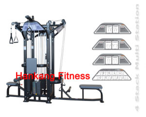 Fitness Equipment, Gym Machine, 4 Stack Multi Station -PT-831 pictures & photos