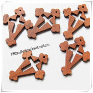 High-End Wooden Toy, Decorative Wood Roods, Handmade Wooden Cross (IO-cw022) pictures & photos