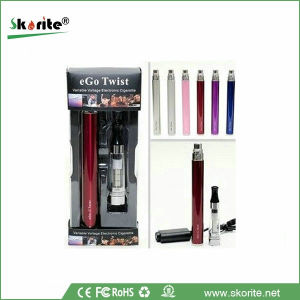 2013 Skorite Top Selling EGO C Twist E Cigarette with Starter Kits