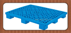 1200*1000*135mm Stackable Grid Nine Feet Plastic Storage Pallet for Warehouse