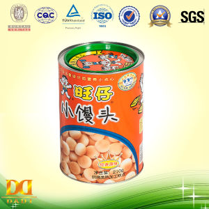 Small Beans Food Grade Nut Packing Metal Tin Can
