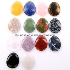 China Semi Precious Stone Gemstone Massage Worry Thumb Stone