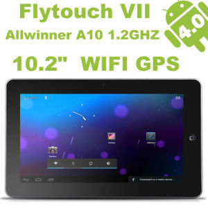 Superpad VII 10.2 Inch Tablet PC Android 4.0 Allwinner Cortex A8 1.2GHz WiFi GPS 1GB RAM HDMI 2160p