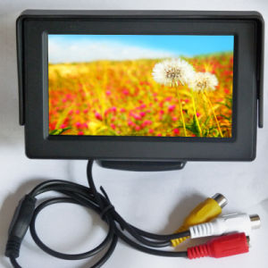 "4.3"" TFT LCD 2AV Car Monitor pictures & photos"