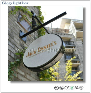 Outdoor Acrylic Advertising Sign Board/Illuminated Pub Sign pictures & photos