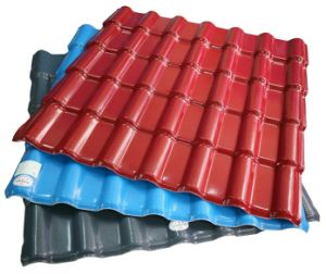 Composite Resin PVC Asa Roof Tile (SRT-2)