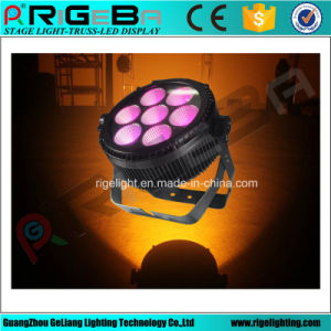 High Power LED PAR 64 7X25W Rgbwy 5in1 Outdoor Light pictures & photos