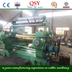New Design Two Roll Rubber Open Mixing Mill pictures & photos