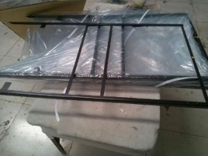 Outdoor H Angle Iron Sign Frame