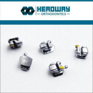 Metal Orthodontic Self-Ligating Bracket Ce Certificate
