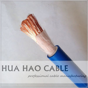 Copper Conductor Woven Fabric Packing Welding Cable pictures & photos