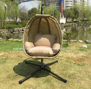 Popular Patio Garden Egg Swing Chair with Textilene pictures & photos