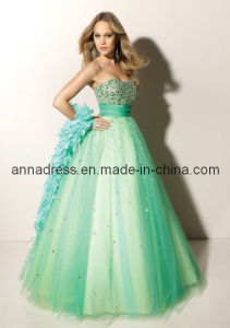 Strapless Prom Dress (Z-075)