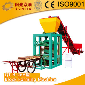 Manual Concrete Brick Making Machine pictures & photos