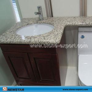China Tiger White Granite Banjo Bathroom Vanity China