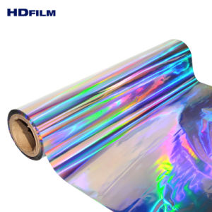 Bopp Zhejiang Iridescent Metallic - Holographic China Colorful Product Film Film Quality Rainbow
