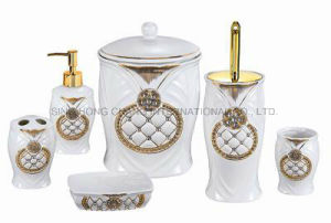 Modern Ceramic Bathroom Set 6PCS pictures & photos