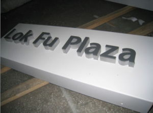 Shopping Mall Aluminum Metal Pavement Commercial Floor Type Directory Signage pictures & photos