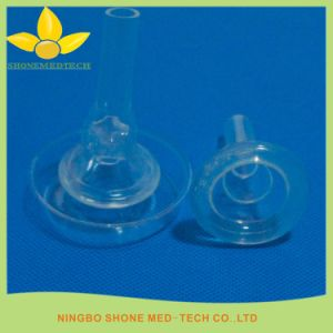 Silicone Self-Adhering External Catheter for Incontinence pictures & photos