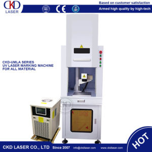 UV Laser Marker Marking Machine for Glass Crystal pictures & photos