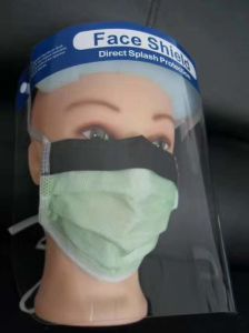 Anti Dust Virus Protection Protective Disposable Plastic Medical Face Sheild