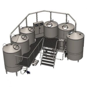 Small Sized Beer Brewing Equipment Industrial Beer Brewery Plant 300L Mini Beer Equipment pictures & photos