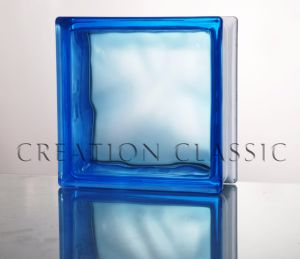 190*190*80mm Blue Coral Glass Block with Ce & ISO9001 pictures & photos