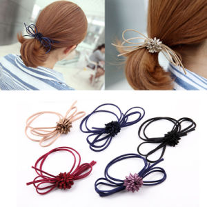 Fashion Hair Accessories Beaded Elastic Hair Ties for Women Girls Pearls Hair  Bands Rope 86bd9f41cbe