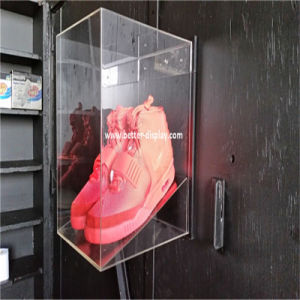 Custom Acrylic Transparent Shoe Box pictures & photos