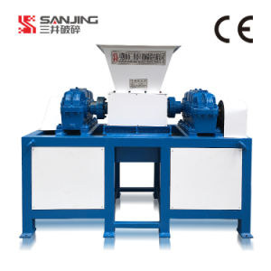 Sanjing Produced Crusher Widely Used Tire Shredder Double Shaft Tire Shredder Machine for Sale