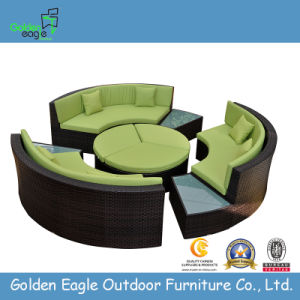 New Indoor/Outdoor Patio Sectional Round Sofa (S0136)