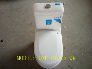 Wc One-Piece /Single-Piece Super Siphonic Toilet pictures & photos