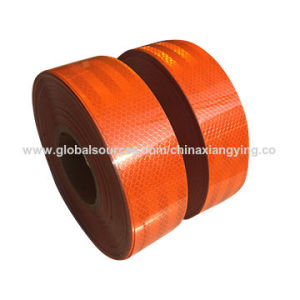 Pet Orange Reflective Tape for Road Safety pictures & photos