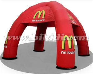 Custom Logo Inflatable Spider Dome Tent for Advertising K5153 pictures & photos