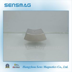 N35~N55 Manufacture Permanent NdFeB Arc Magnet for Generator, Brake, Bearing pictures & photos