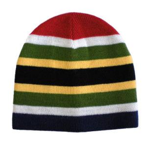 1c23383fef5cc China Colourful Stripe Beanie Hat (JRK054) - China Beanie, Knitted Hat