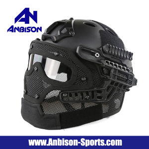 New China Wholesale Fast Helmet with Strike Wire Mask Set pictures & photos
