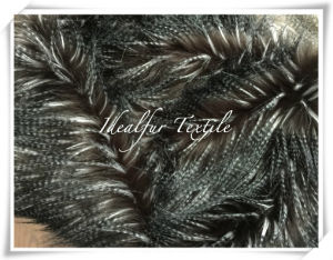 Faux Fur Fancy Feather Black/White/Coffee pictures & photos