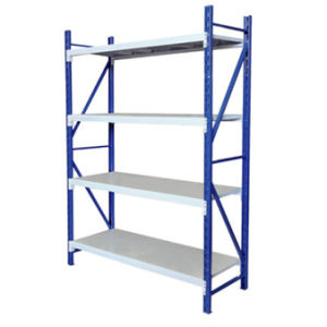 High Quality Light Duty 4 Layers Steel Storage Warehouse Racking pictures & photos