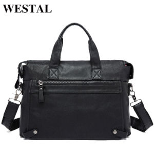 Genuine Leather Bag Business Men Bags Laptop Tote Brief⪞ Ases Crossbody Bags Shoulder Handbag Men′s Messenger Bag pictures & photos