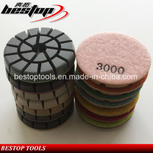 3 Inch Floor Polishing Pad for Granite Marble Concrete pictures & photos