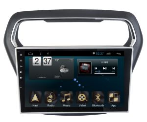 Android 6.0 System 5.1 Navigation&GPS for 2014 Ford Escort with Car DVD Player
