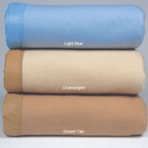 Cheapest Stock Polyester & Acrylic Blanket (DPF10351) pictures & photos