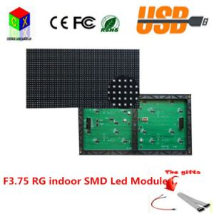 F3.75 Indoor SMD Rg LED Module Pixels Pixels Is 64X32 Size Is 304X152mm, 1/16 Scan P4.75 with Hub08
