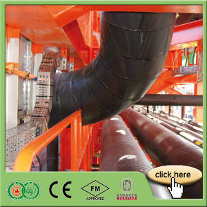 Heat Insulation 13-30mm PVC/NBR Acoustic Insulation Rubber Foam Blanket pictures & photos