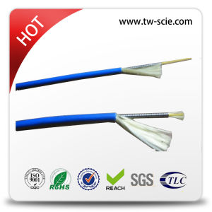 Single Mode Tight Buffer Fiber Optic Cable with Steel Wire Armored Cable pictures & photos