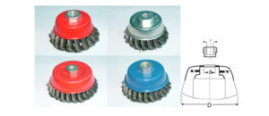 High Quality Steel Wire /Brass Wire Wheel Cup Brush for Machine