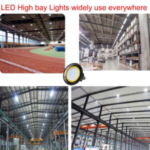 200W IP65 UFO AC200-270V LED High Bay Lighting pictures & photos