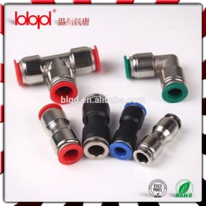 Pneumatic Fittings PU-a, Push Fit Coupling Automobile Spare Parts, Zinc PU Fittings pictures & photos