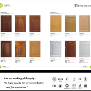 PVC Kitchen Cabinet Doors with Many Designs (zhuv) pictures & photos